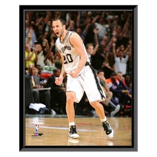 NBA Manu Ginobili 2011 12 Action Framed Photo Officially Licensed