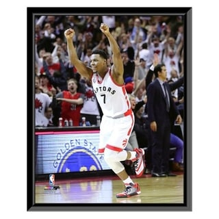 NBA Kyle Lowry 2016 NBA Playoff Action Framed Photo Officially Licensed