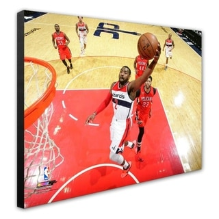 NBA John Wall 2016 17 Action Stretched Canvas Officially Licensed