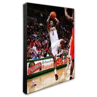 NBA Brandon Jennings 2011 12 Action Stretched Canvas Officially Licensed