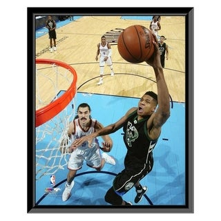 NBA Giannis Antetokounmpo 2015 16 Action Framed Photo Officially Licensed