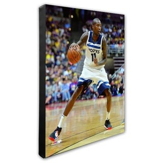 NBA Jamal Crawford 2017 18 Action Stretched Canvas Officially Licensed