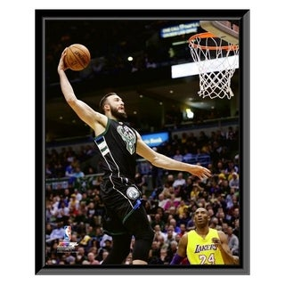 NBA Miles Plumlee 2016 16 Action Framed Photo Officially Licensed
