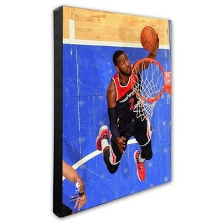 NBA John Wall 2014 15 Action Stretched Canvas Officially Licensed