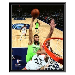 NBA Karl Anthony Towns 2017 18 Action Framed Photo Officially Licensed