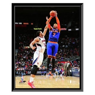 NBA Carmelo Anthony 2013 14 Action Framed Photo Officially Licensed