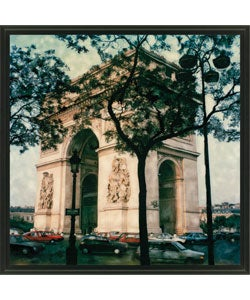 Gallery Direct Ernesto Rodriguez 'Arc de Triomphe' Framed Canvas Art