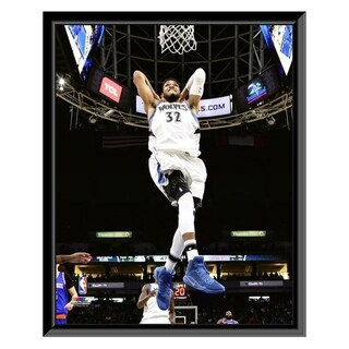 NBA Karl Anthony Towns 2016 17 Action Framed Photo Officially Licensed