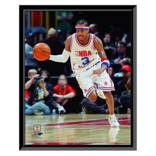 NBA Allen Iverson 2003 All Star Game Action Framed Photo Officially Licensed