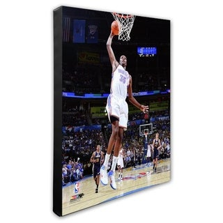 NBA Kevin Durant 2010 11 Action Stretched Canvas Officially Licensed