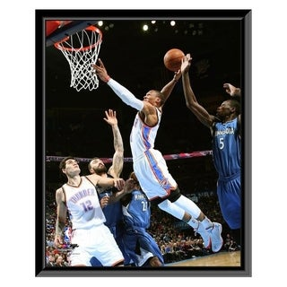 NBA Russell Westbrook 2014 15 Action Framed Photo Officially Licensed