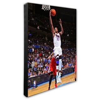 NBA Kevin Durant 2012 13 Action Stretched Canvas Officially Licensed