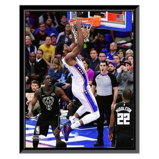 NBA Joel Embiid 2017 18 Action Framed Photo Officially Licensed