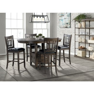 Picket House Furnishings Sam 5PC Dining Set-Table and Four Chairs