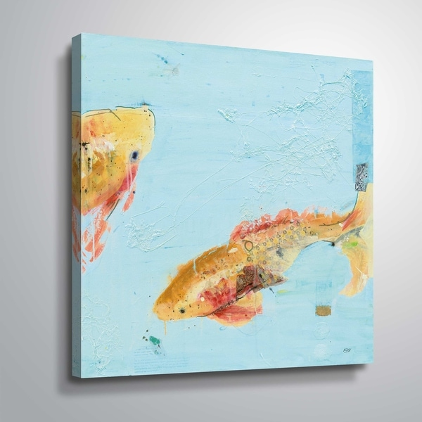"""""""Fish in the sea II"""" Gallery Wrapped Canvas"""