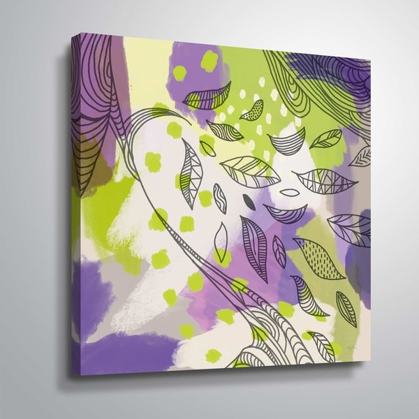 """""""Bright Life II"""" Gallery Wrapped Canvas"""