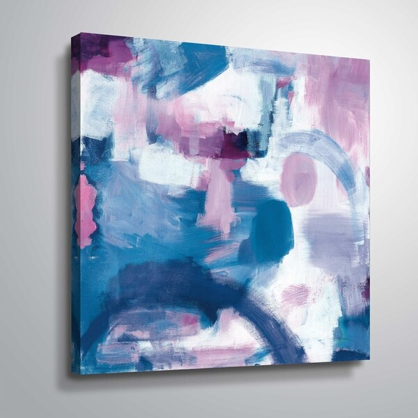 """""""Trial & Airy Nebula"""" Gallery Wrapped Canvas"""