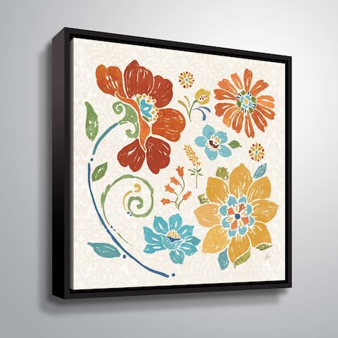 """""""Spanish Impressions III"""" Gallery Wrapped Floater-framed Canvas"""