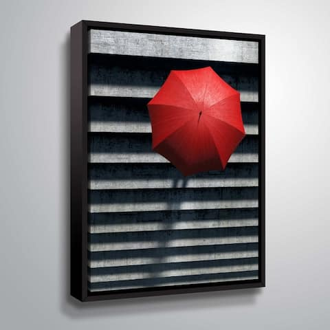 """""""Stairs"""" Gallery Wrapped Floater-framed Canvas"""