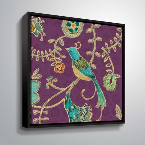 """""""Bohemian Wings VI"""" Gallery Wrapped Floater-framed Canvas"""