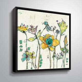 """""""Monkey & Mommy"""" Gallery Wrapped Floater-framed Canvas"""
