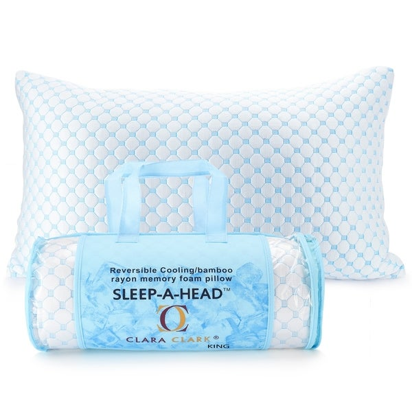 Reversible Multi-Use Gel Infused Pillow. Opens flyout.