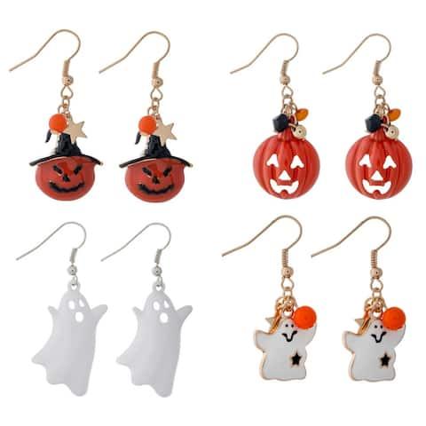 Spooky Halloween Dangle Earrings Set