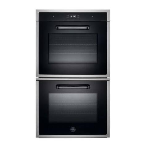 """30"""" Designer Double Oven Opp Version Stainless Steel"""