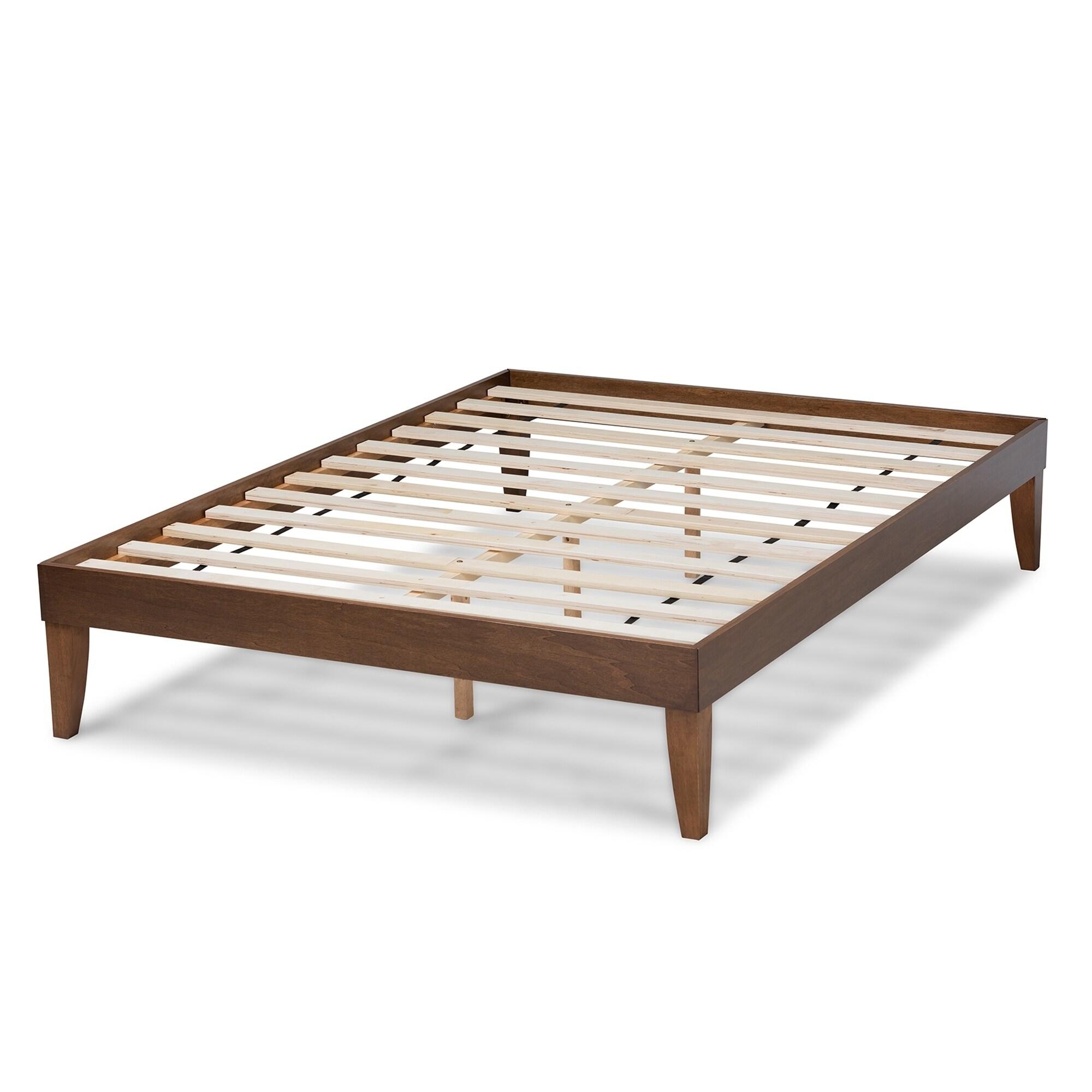 Lucina Mid-Century Modern Platform Bed Frame