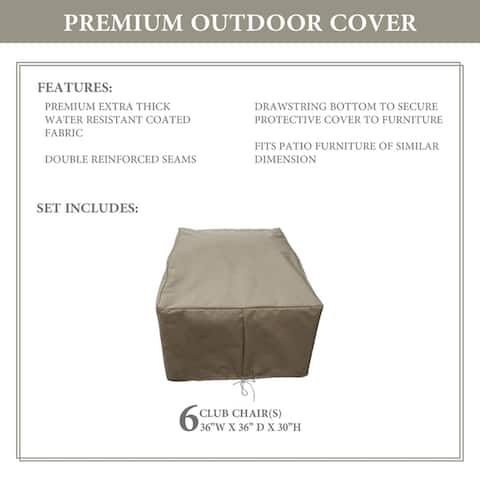 kathy ireland Homes & Gardens RIVER-06w Protective Cover Set