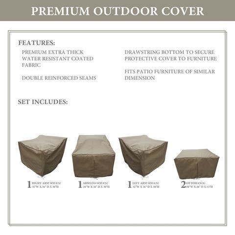 kathy ireland Homes & Gardens RIVER-05e Protective Cover Set