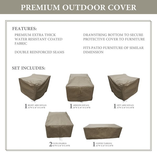 kathy ireland Homes & Gardens RIVER-06r Protective Cover Set. Opens flyout.