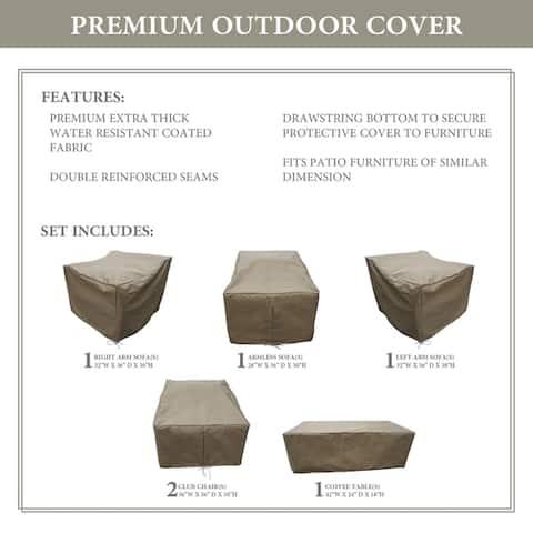 kathy ireland Homes & Gardens RIVER-06r Protective Cover Set
