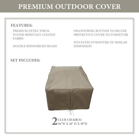 kathy ireland Homes & Gardens RIVER-02b Protective Cover Set