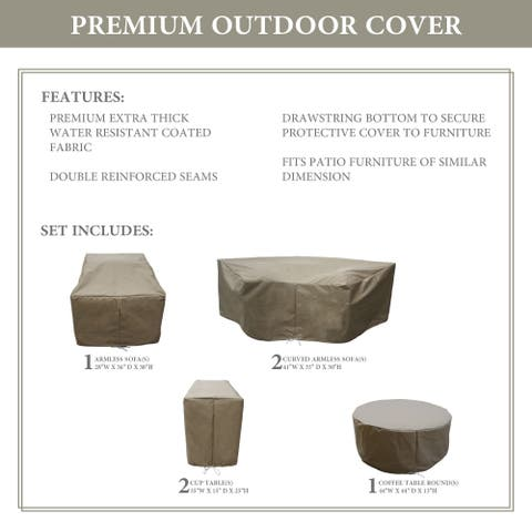 kathy ireland Homes & Gardens RIVER-06c Protective Cover Set