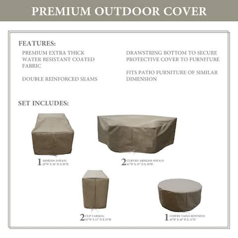 kathy ireland Homes & Gardens RIVER-06c Protective Cover Set