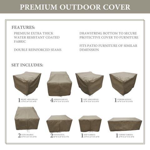 kathy ireland Homes & Gardens RIVER-13a Protective Cover Set