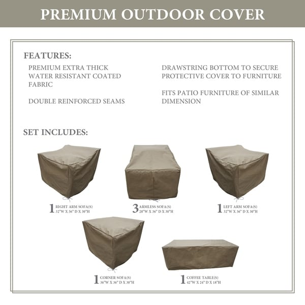 kathy ireland Homes & Gardens RIVER-07b Protective Cover Set. Opens flyout.