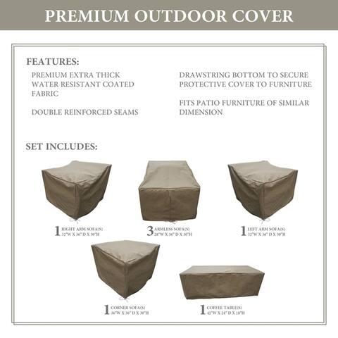 kathy ireland Homes & Gardens RIVER-07b Protective Cover Set