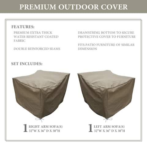 kathy ireland Homes & Gardens RIVER-02a Protective Cover Set