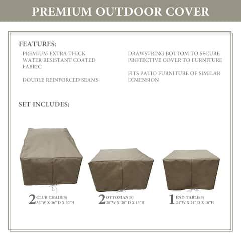 kathy ireland Homes & Gardens RIVER-05b Protective Cover Set