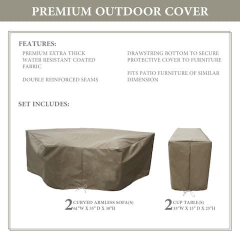 kathy ireland Homes & Gardens RIVER-04a Protective Cover Set