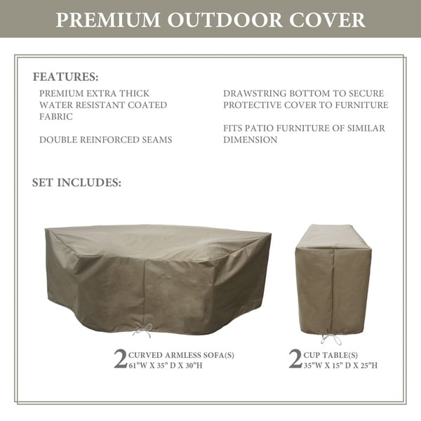 kathy ireland Homes & Gardens RIVER-04a Protective Cover Set. Opens flyout.