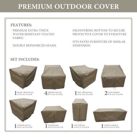 kathy ireland Homes & Gardens RIVER-12a Protective Cover Set