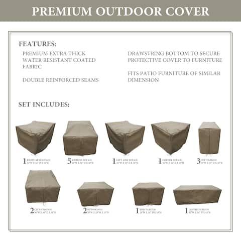 kathy ireland Homes & Gardens RIVER-17a Protective Cover Set
