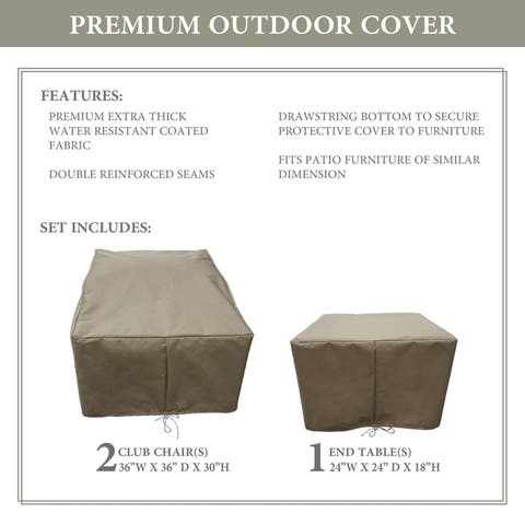 kathy ireland Homes & Gardens RIVER-03a Protective Cover Set