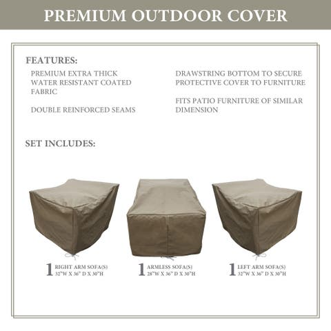 kathy ireland Homes & Gardens RIVER-03c Protective Cover Set