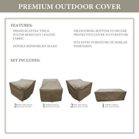 kathy ireland Homes & Gardens RIVER-06m Protective Cover Set
