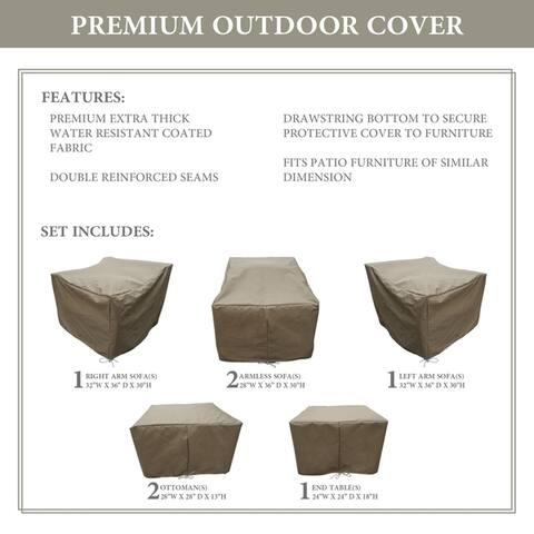 kathy ireland Homes & Gardens RIVER-07a Protective Cover Set
