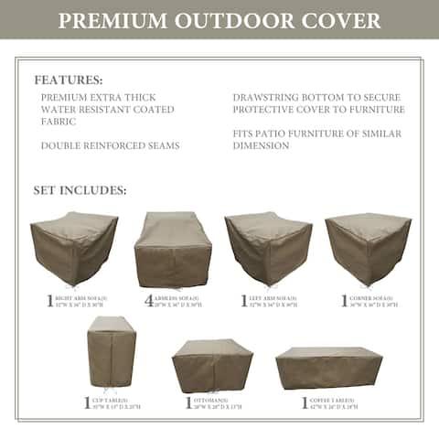 kathy ireland Homes & Gardens RIVER-10b Protective Cover Set